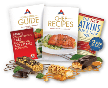 Free atkins diet kit with 3 atkins bars guide2free samples for Atkins quick cuisine