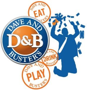 What is the biggest saving you can make on Dave and Busters? The biggest saving reported by our customers is $ How much can you save on Dave and Busters using coupons? Our customers reported an average saving of $ Is Dave and Busters offering BOGO deals and coupons? Yes, Dave and Busters has 4 active BOGO offers.