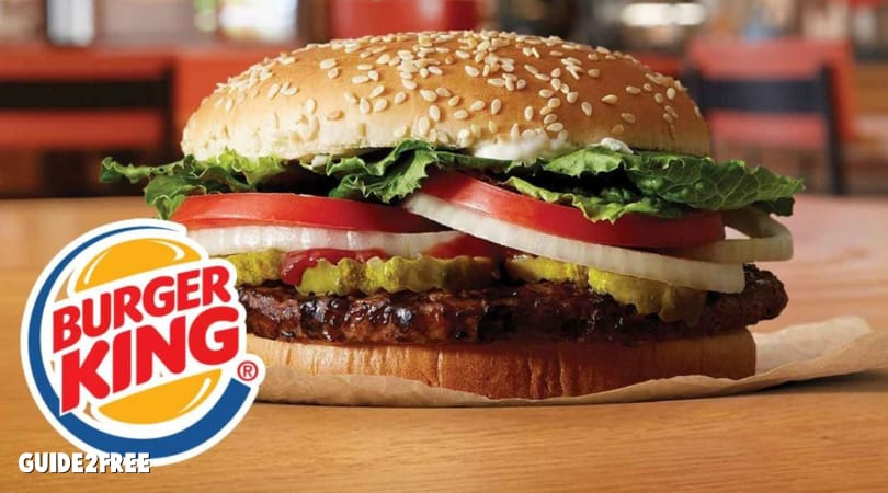 FREE Whopper at Burger King