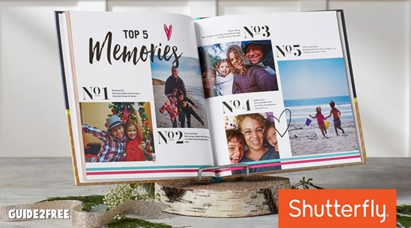 FREE Shutterfly 8×8 Photo Book ($29.99 Value) $8 Shipping