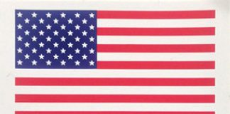 FREE American Flag Sticker