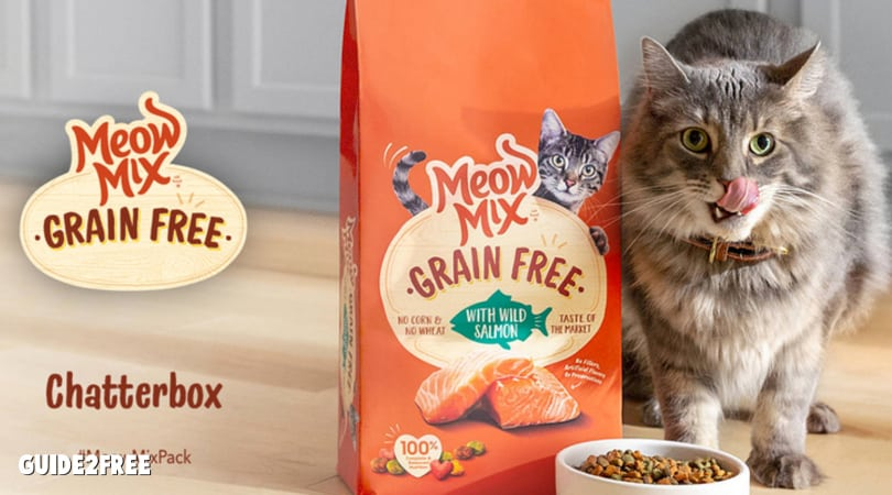 FREE Meow Mix Cat Food Samples