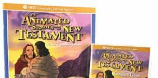 "Animated New Testament DVD ""Lazarus Lives"