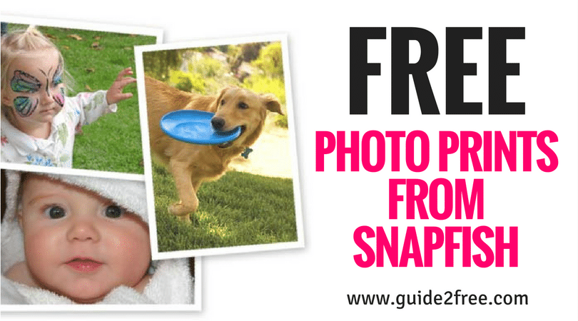 20 FREE 4×6″ Prints from Snapfish