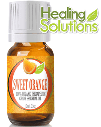 FREE Bottle of Orange Essential Oil