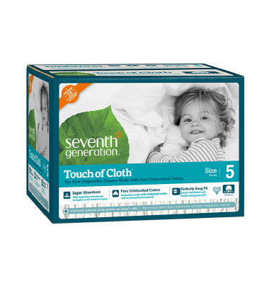 FREE Seventh Generation Touch of Cloth Diapers Sample