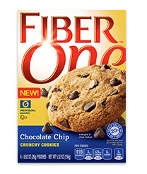 FREE Fiber One Chocolate Chip Crunchy Cookie