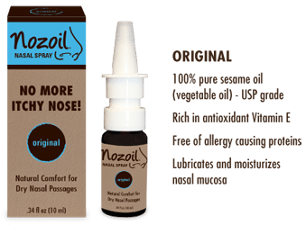 FREE Nozoil Nasal Spray Sample