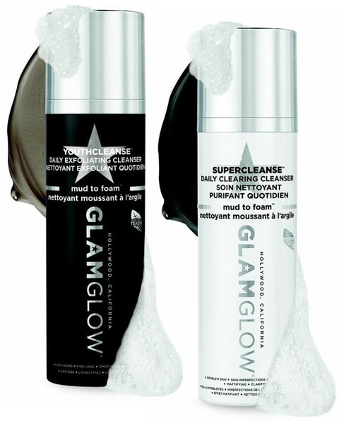 GlamGlow YouthCleanse Daily Exfoliating Facial Cleanser