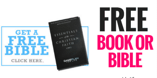 FREE BOOK OR BIBLE