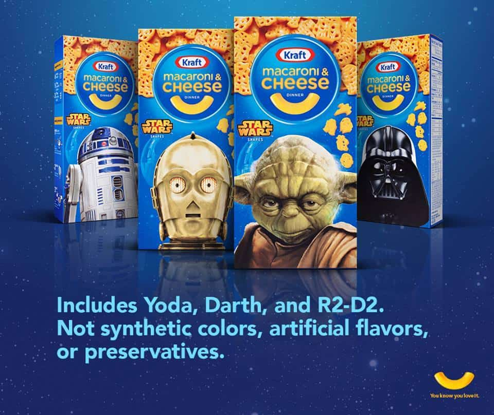 Apply to Host a Star Wars Themed Kraft Macaroni & Cheese Party