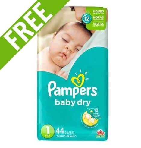 free pampers newborn starter kit