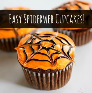 halloween spider web cupcakes recipes