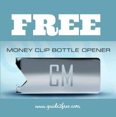 FREE L&M Personalized Money Clip Bottle Opener