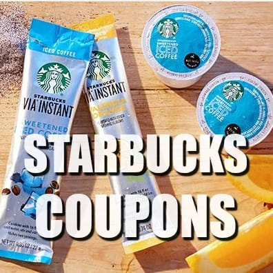 FREE Starbucks Product Coupons