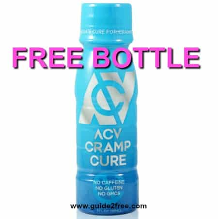FREE Bottle of ACV Cramp Cure