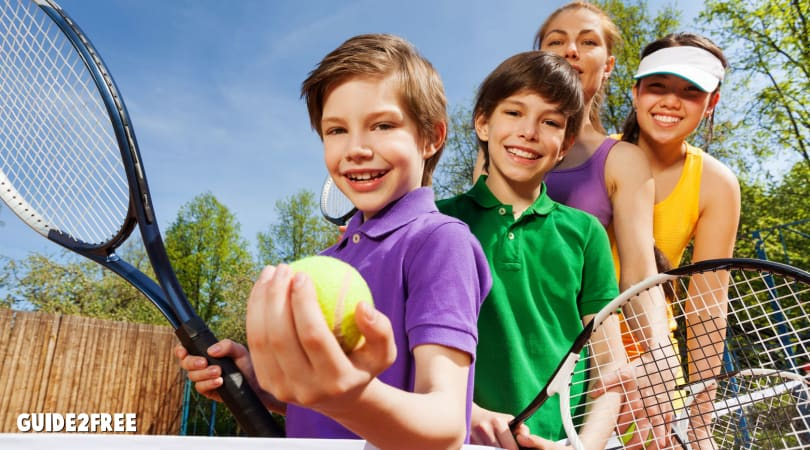 FREE 1 Year US Tennis Association Junior Membership