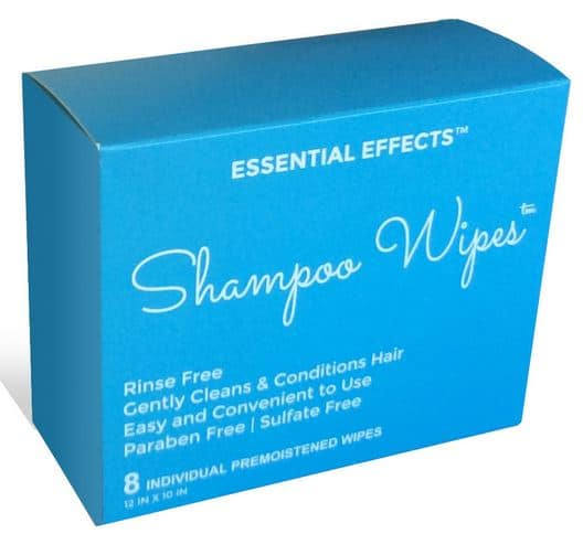 FREE Essential Effects Shampoo Wipes Sample