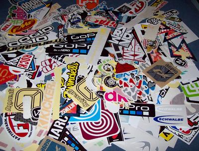 All Kinds of FREE Stickers