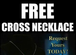 FREE Cross Necklace