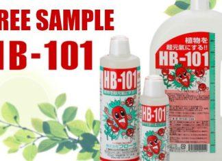 FREE HB-101 Plant Revitalizer Sample