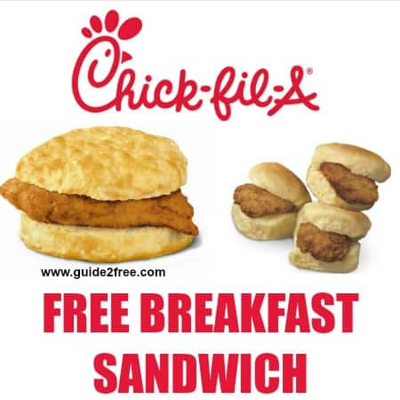 Thursday, February 4th, get a free 3-count of chick-n-minis at participating Charlotte area Chick-fil-A restaurants.