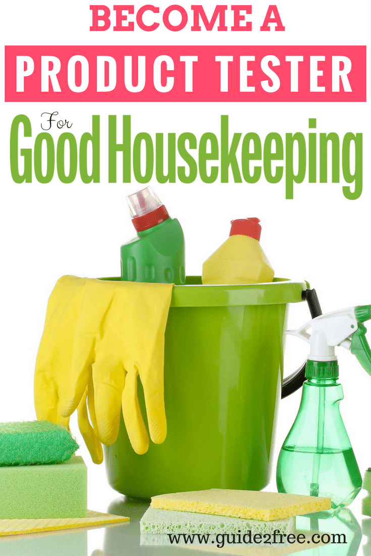 become a product tester for good housekeeping