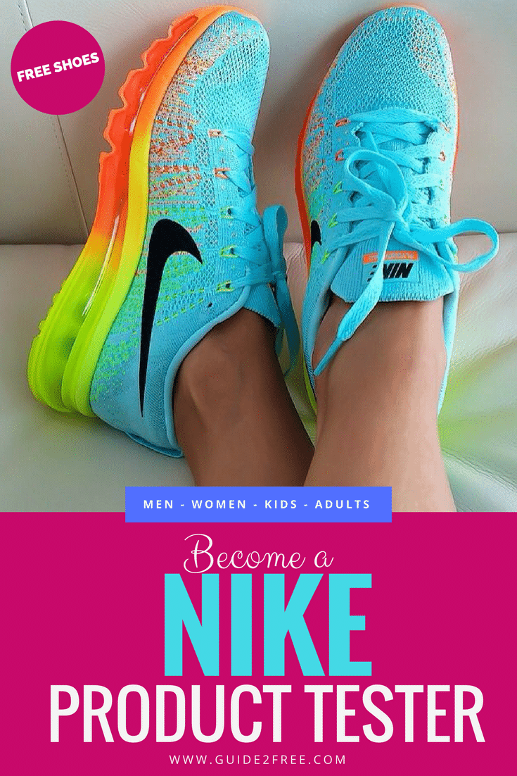 become a nike product tester