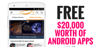 $20,000 WORTH OF ANDROID APPS FOR FREE