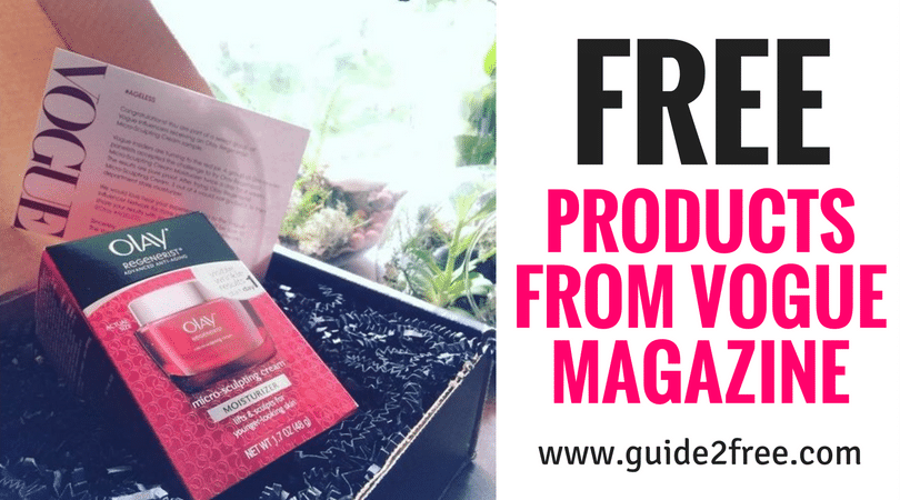 Join the Vogue Insiders Community = FREE Products