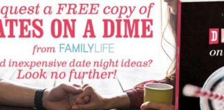 FREE Dates on a Dime Book