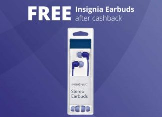 FREE Insignia Stereo Earbud Headphones
