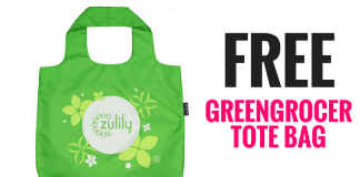 Zulily is offering new members a FREE Greengrocer Tote Bag (a $10 value) with FREE Shipping — no purchase required!