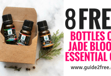 FREE Jade Bloom Essential Oils (Up to 8 Free Bottles!)