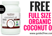 FREE Organic Coconut Oil Gift Box (Just Pay Shipping)