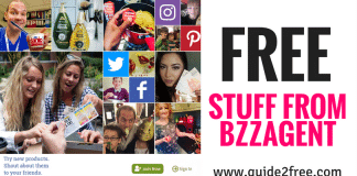 Join BzzAgent and get FREE Stuff