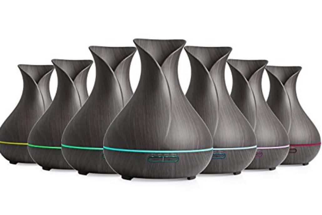 FREE REIDEA Essential Oil Diffuser Ultrasonic Humidifier