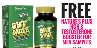 FREE Nature's Plus HGH & Testosterone Booster for Men Samples