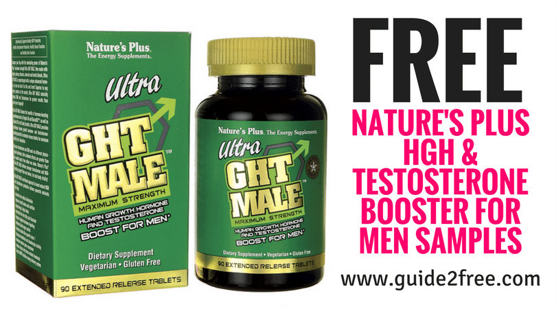 FREE Nature's Plus HGH & Testosterone Booster for Men