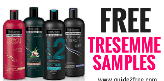 FREE Samples, Coupons, & Offers From TREsemme