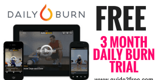 FREE 3 Month Daily Burn Trial