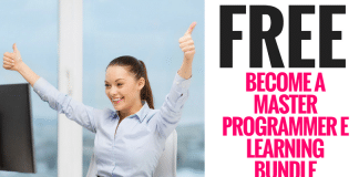 FREE Become a Master Programmer E Learning Bundle ($79 value)