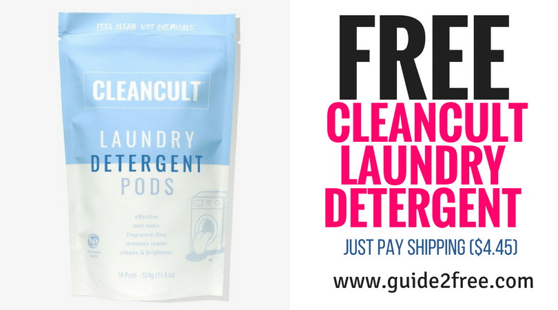 Free Cleancult Laundry Detergent Just Pay Shipping 4 45