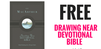 FREE Drawing Near Devotional Bible