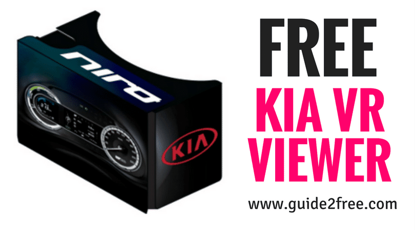 FREE Kia VR Viewer • Guide2Free Samples
