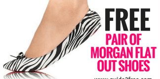 FREE Pair of Morgan Flat Out Shoes