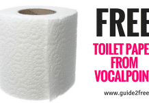 FREE Toilet Paper from Vocalpoint