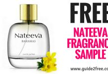 FREE Nateeva Fragrance Sample