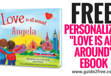 """FREE Personalized """"Love is All Around"""" eBook"""