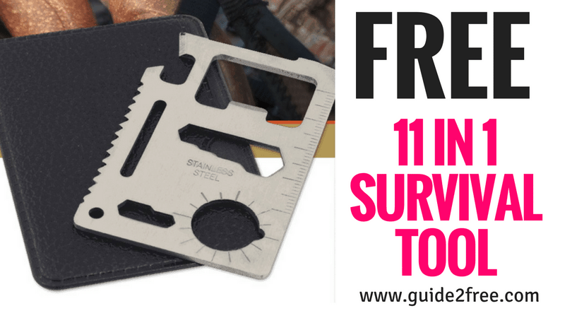 FREE 11 in 1 Survival Tool from Stoker's